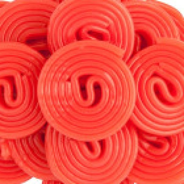 Licorice Wheels - Strawberry Red
